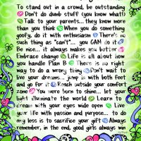 "Wonderful Wacky Words of Wisdom for Young Women (Irish/Celtic) – 8 x 10 Matted ""Gifty"" Art Print"
