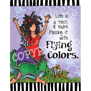 Flying Colors Note card