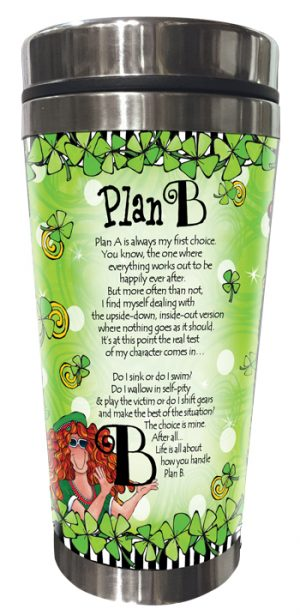 Plan B Stainless Steel tumbler - BACK