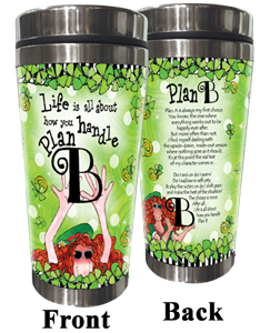 Plan B Stainless Steel tumbler