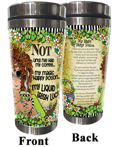 NOT until coffee Stainless Steel Tumbler