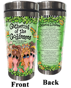 Gathering of the (IRISH) Goddesses Stainless Steel Tumbler