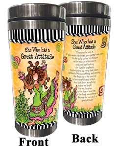 Great Attitude Stainless Steel Tumbler