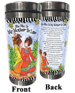 She Who is My Mother-in-law Stainless Steel Tumbler