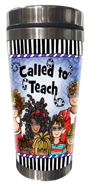 Called to Teach (MALE) Stainless Steel Tumbler FRONT