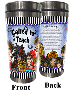 Called to Teach (MALE) Stainless Steel Tumbler