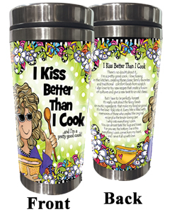 Kiss / Cook stainless Steel Tumbler