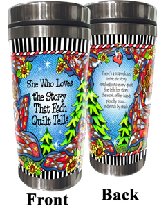 Story of Quilting Stainless Steel Tumbler