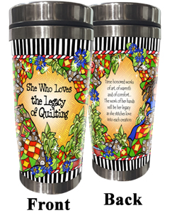 Legacy of Quilting Stainless Steel Tumbler