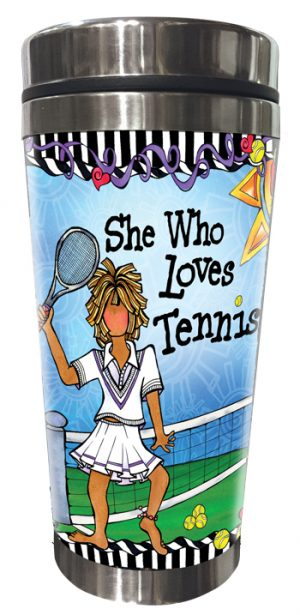 Tennis Stainless Steel Tumbler FRONT