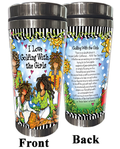 Golfing with Girls Stainless Steel Tumbler