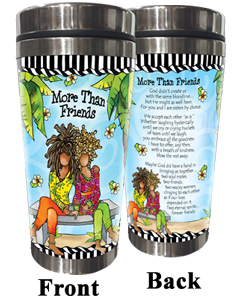 More Than Friends Stainless Steel Tumbler