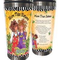 More Than Sisters – Stainless Steel Tumbler