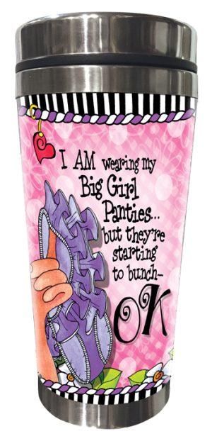 Big Girl Panties Stainless Steel Tumbler FRONT