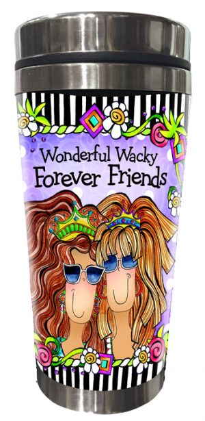 Forever Friends Stainless Steel tumbler FRONT