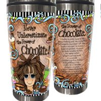 Never Underestimate the Power of Chocolate! – Stainless Steel Tumbler