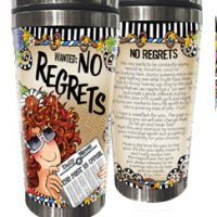 WANTED: No Regrets – Stainless Steel Tumbler