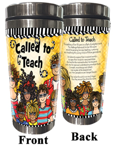 Called to Teach (FEMALE) Stainless Steel Tumbler