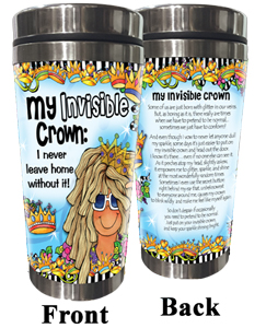 Invisible Crown Stainless Steel tumbler