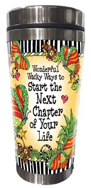 Next Chapter stainless steel tumbler FRONT