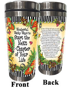 Next Chapter stainless steel tumbler