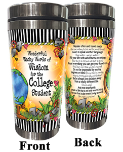 College Student Stainless Steel Tumbler