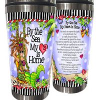 By the Sea My Heart is Home (Divas of the Deep) – Stainless Steel Tumbler