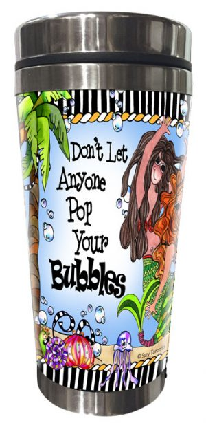 Bubbles Stainless Steel Tumbler FRONT
