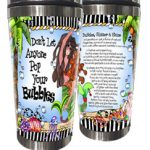 Don't Let Anyone Pop Your Bubbles (Divas of the Deep) – (w FREE Coaster) Stainless Steel Tumbler