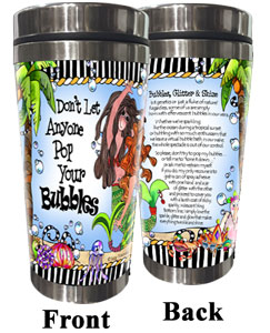 Bubbles Stainless Steel Tumbler