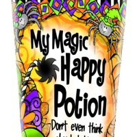 My Magic Happy Potion –Don't even think about taking it from me! (Halloween) – Stainless Steel Tumbler
