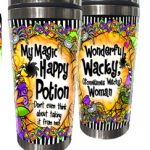 My Magic Happy Potion –Don't even think about taking it from me! (Halloween) – 16 oz. Stainless Steel Tumbler