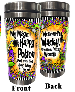 Magic Happy Potion stainless steel tumbler