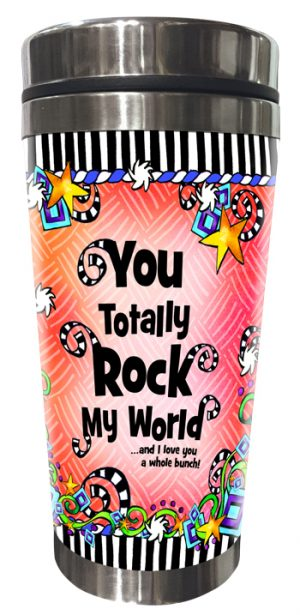 Totally Rock Stainless Steel Tumbler FRONT