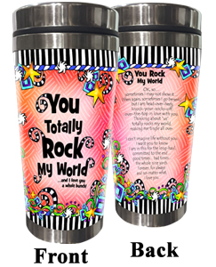 Totally Rock Stainless Steel Tumbler