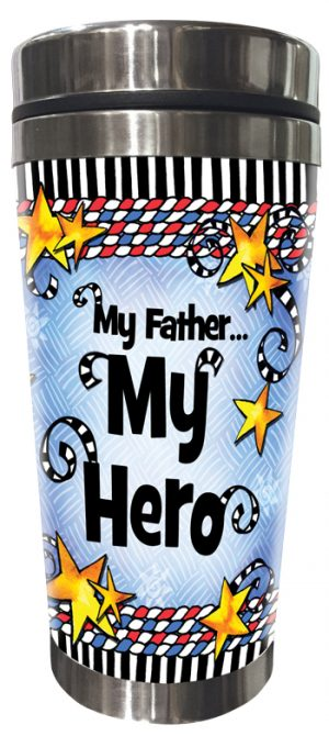 My Hero Stainless Steel Tumbler FRONT