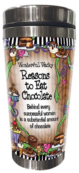 Reasons for Chocolate Stainless Steel tumbler FRONT