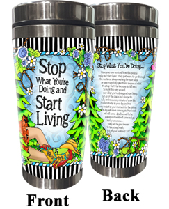 Start Living Stainless Steel Tumbler