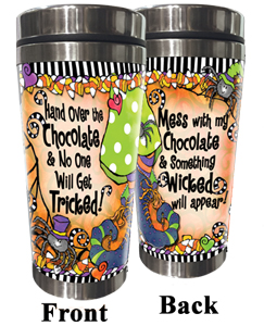 Chocolate Tricked Stainless Steel tumbler