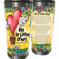 Rise by Lifting Others (no hot air required) – Stainless Steel Tumbler