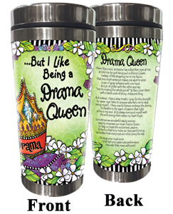 Drama Queen Stainless Steel Tumbler