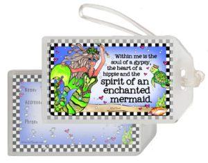 Enchanted Mermaid - bag tag