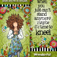 If you pray when you're in trouble, you're in trouble! – Bookmark