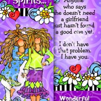 Kindred Spirits… Forever Friends – Bookmark