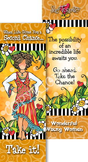 Second Chance - Bookmark