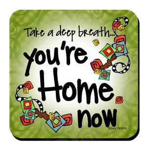 Home Now (Liberty) Coaster