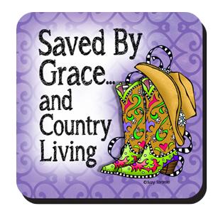 Saved by Grace coaster