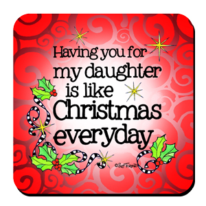 Daughter Christmas - coaster