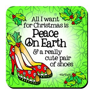 Cute Shoes Christmas - Coaster