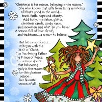 """She Who Believes – 8 x 10 Matted """"Gifty"""" Art Print"""